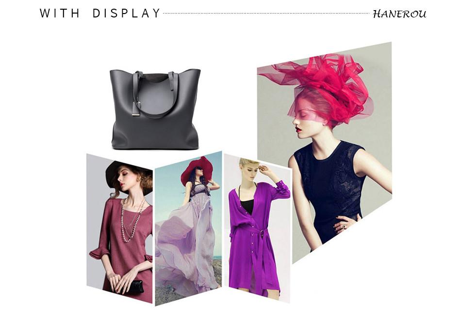 18 New Fashion Woman Shoulder Bags Famous Brand Luxury Handbags Women Bags Designer High Quality PU Totes Women Mujer Bolsas 17