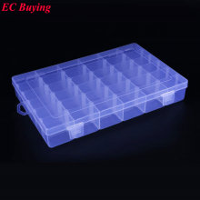 1 pcs New Arrival 36 Cells SMD SMT IC Electronic Component Mini Storage Box and Practical Jewelry Storaged Case 275*177*43 mm