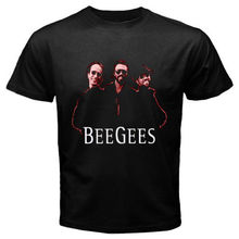 New BEE GEES *Personels Classic Music Group Men's Black T-Shirt Size S to 2XL kevin durant jersey
