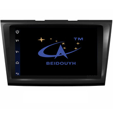 BEIDOUYH Car DVD Player Android GPS Navigation for Ford Taurus 2015-2016 Support Mirror link/APP Download/3G Front/Rear Record