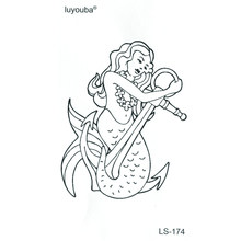 Compare Prices On Mermaid Tattoo Online Shopping Buy Low Price