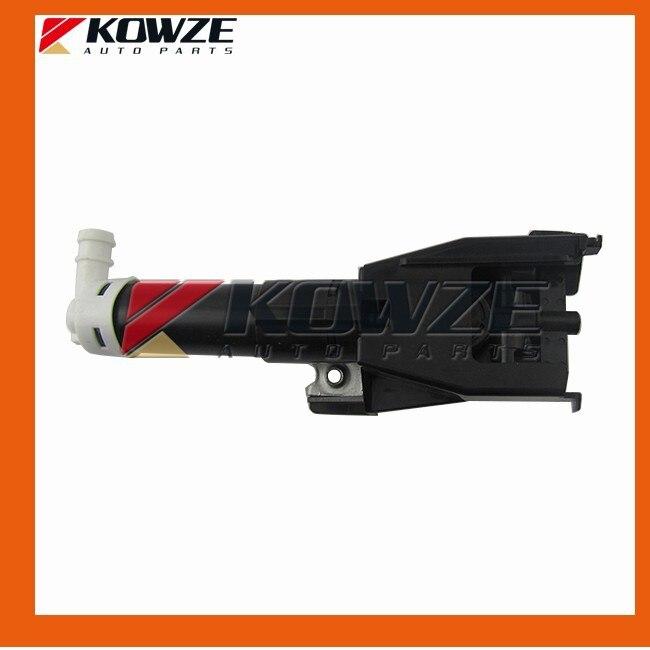 Front Left Headlamp Washer Nozzle Jet Spout For Mitsubishi Pajero Montero Shogun 4 IV 8264A025<br>