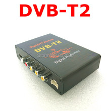 Hot Digital DVB T2 Car TV Receiver HDMI 1080P CVBS DVB-T2 Support H.264 MPEG4 Europe Russia Thai Market(China)