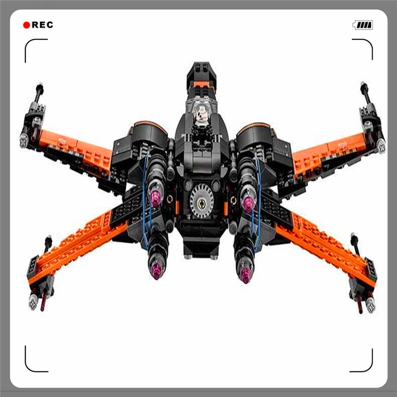 Lepin Building Blocks X-Wing Fighter 748Bricks Assemble Toy Interlocking Construction Brinquedos For Children Compatible Legoe<br>