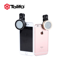 Tolifo HF0601 LED Mobile Phone Photography Selfie light Luminous Selfie Ring Light For iPhone SE 6S 7 7S Plus Samsung HTC