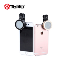 Tolifo HF0601 LED Mobile Phone Photography Selfie light Luminous Selfie Ring Light For iPhone SE 6S 7 7S Plus Samsung HTC(China)