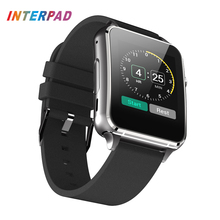 Interpad Cool Smart Watch Android Bluetooth Connect Smart Electronics Wristwatch Sport Watch For Android IOS Smartwatch(China)