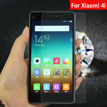 Premium Tempered Glass For Xiaomi 4i Mi4i M 4i Film Screen Protector 5.0inch Xiaomi4i No Finger print Glass With Cleaning Kit