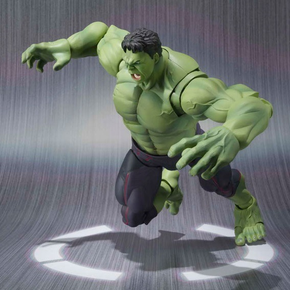 Marvel Avengers Assemble Avengers 2 The Hulk Super Heroes PVC 16CM Action Figure Collection Model Toys Dolls Model Free Shipping<br><br>Aliexpress