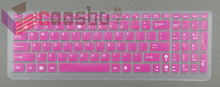 freeship 2pcsColored Silicone Protective US Keyboard Cover Skin membrane Films for asus  N56 A56 X54 X501 X55 K55 S56