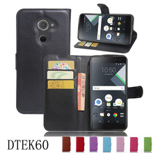Super PU Leather Coque Carcasa For BLACKBERRY BLACK BERRY DTEK60 Flip Case Genuine Housing fundas With Back Shell Cover 100% Fit