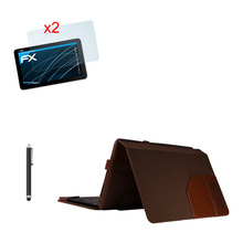 "Soft Keyboard Station Flip Stand Leather Case Cover+2* Clear Films+Stylus For ASUS Transformer Book T3 chi T300 chi 12.5"" Tablet"
