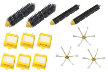 High Quality 2 Bristle & Flexible Beater Brush & 6 Hepa Filter & 3 Side Brush kit for iRobot Roomba 700 Series 770 780 790(China)