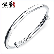 925 pure silver light all-match simple Bracelet Vera Royal Women handed down in pure love bracelet wholesale manufacturers(China)