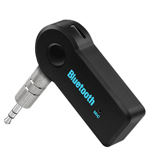 SOROPIN Wireless Bluetooth Car Music Receiver 3.5mm Plug AUX Streaming A2DP Adapter Connector With Mic For Car Home Speaker(China)