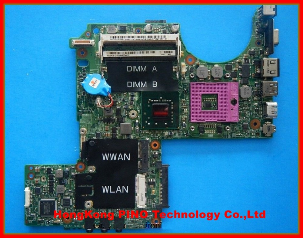 M1330 motherboard For DELL M1330 laptop motherboard P083J CN-0PU073 0PU073 K984J 100% Tested<br><br>Aliexpress