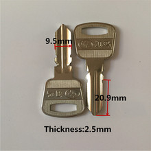 Locksmith Supplies A063 Blank Keys Brass Door Key Blanks Locksmith Tools[15pcs/lot]