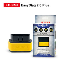 New Arrival Launch X431 EasyDiag 2.0 Plus OBD2 diagnostic tool  For Android IOS Easy Diag 2.0 +With 2 Free Vehicle Software