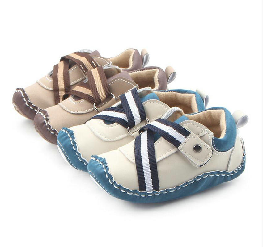 SIZE UK1.5 Natural Leather UK2 Baby First Shoes made in EU
