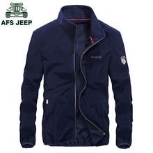AFS JEEP Plus Size 4XL Hot Sale Mens Hoodies and Sweatshirts Autumn Spring Fleece Casual Coat Jackets And Coats Sudaderas Hombre
