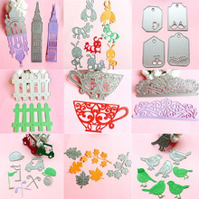 1Pcs Novelty Album Craft Cutting Dies Diary Hot Stencil Scrapbook Paper Card Embossing Metal New DIY(China)