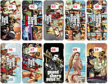 Lot Grand Theft Auto Painting Hard Cover For Samsung Galaxy S2 S3 S4 S5 Mini S6 S7 Edge Plus Note 2 3 4 5 Mobile Cell phone Case(China)