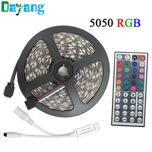 10M 5M RGB LED Strip 5050 set with IR Remote Controller DC 12V SMD 60leds/M 30leds/M waterproof 10M 600 LEDs RGB tape LED Ribbon
