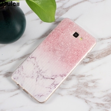 Dulcii for Galaxy J 7 Prime Phone Cover Case Pattern Printing TPU Gel Mobile Casing for Samsung Galaxy J7 Prime/On7 2016 Marble