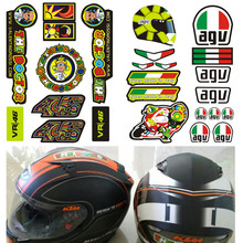 Valentino Rossi Sticker 46 VR46 The Doctor agv For Yamaha Helmet Motocross Moto Motorcycle Bike Skate board Luggage Decal Kit