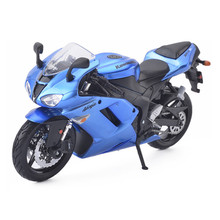 Maisto Kawasaki Ninja ZX-6R 1:12 Model Motorcycle Toys, Diecast & ABS Motor Bicycle, Miniature Car Toy For Kids, Boys Juguetes(China)