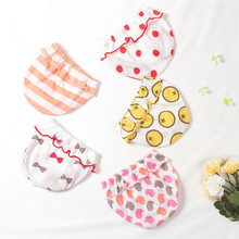 5 pcs/lot Cute Baby Girls Panties Lucky Child Calcinha Cotton Underwear Girl Kids Briefs Lovely Underpants Shorts 1-5 T(China)