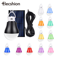Elecshion Led Outdoor Lighting Solar Power Energy System Decoration Lamp Sunlight Street Path Inflatable Coat For Garden Home(China)