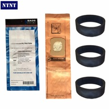 NTNT For Kirby 9 Genuine Vacuum Micron Magic Bags G4 & G5 197394 Generation 4 Gen 5 Kirby Bag, 197394 (9 pack) & 3 Belts 301291(China)