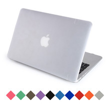 for macbook case AIR 13 matte transparent hard pc for macbook air pro retina 11 12 13 15 inch protective cover