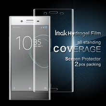 Buy IMAK Sony Xperia XZ Premium 2 Pcs Packing Full Screen Complete Cover Soft Hydrogel Protector Film Sony Xperia XZ Premium for $6.65 in AliExpress store