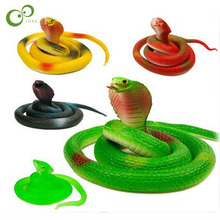 soft toy snake scary toys imitation rubber children Funny toys Halloween Funny Creative Toys LYQ(China)