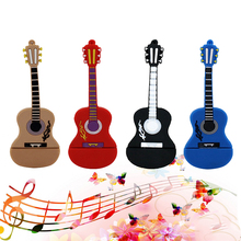 pen drive guitar USB Flash Drive Memory Stick/thumb 4g 8g 16g 32g 64g musicial flash Pendrive key/tiny U Disk external storage