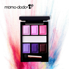 Momododo Wave Point Magic Eyeshadow Pallete Mixed Color Eyeshadow With Eye Primer Eye Shadow Palette Makeup Cosmetics(China)