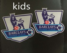 2 pcs wholesale free shipping 2007-2016 EPL Premier League kids soccer patch(China)