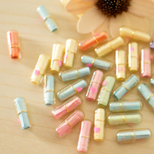 50Pcs Mixed Creative Love Letter Capsule Mini Gift Boxes Wish Bottle With Paper Scrip Secret Words For Lovers capsule bottle