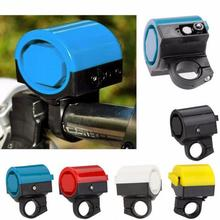 MTB Road Bicycle Bike Electronic Bell Loud Horn Cycling Hooter Siren Holder free shipping(China)