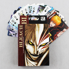 Hot Sale 54 Sheets/pack Creative Anime BLEACH Figures Set Toys Bleach Poker Cards Free Shipping