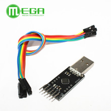 G401 Free Shipping 5PCS/LOT+ CP2102 module STC Download USB to TTL Send Dupont Line,cp2102 module