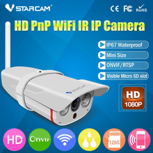 Vstarcam C16S HD 1080P Wifi IP Camera Waterproof IP67 Outdoor Wireless 2mp IP Camera Wireless IR-Cut support 128G TF Card (New)