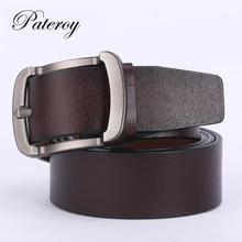 [PATEROY] Belt Designer Belts Men High Quality Leather Belt Men Vintage Cinturones Hombre Cinto Ceinture Homme Mens Belts Cowboy