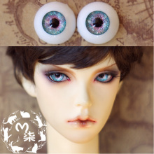 1Pair Retail BJD Eye Acrylic Dolls Accessories Doll Eyeball 12MM 14MM(China)
