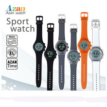 New Muslim Azan watch Alharameen Muslim Sports Wriste Watch Automatic Azan Alarm Watch for Islamic Prayer Time Muslim Gifts(China)
