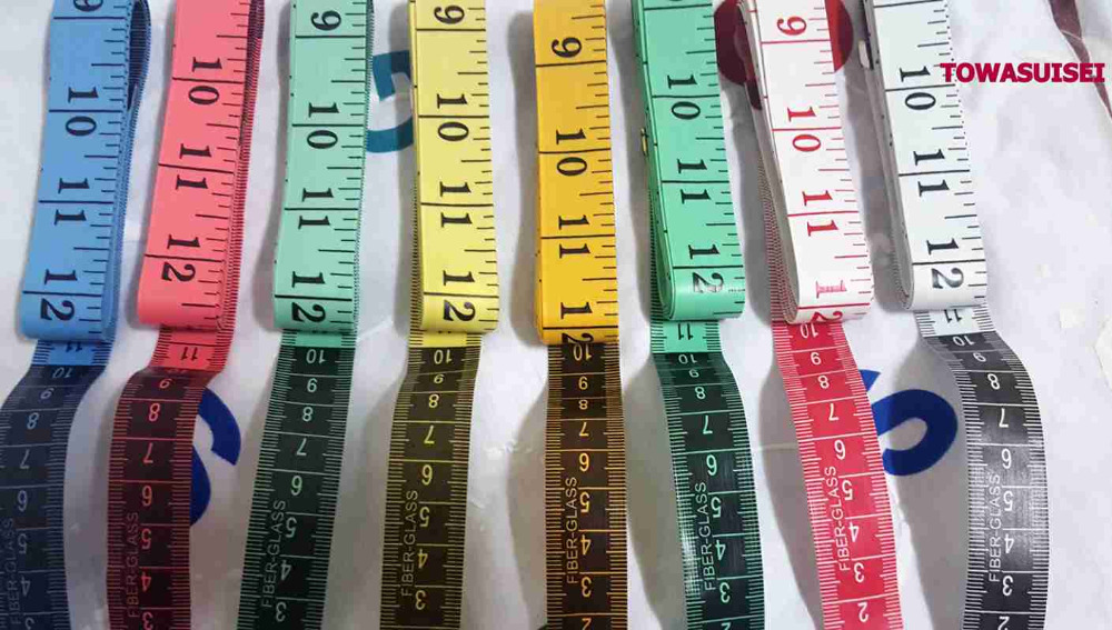 1.5m Tape Mesure Sewing Tailor Fabric Measuring Tapes Ruler Soft Flat SP