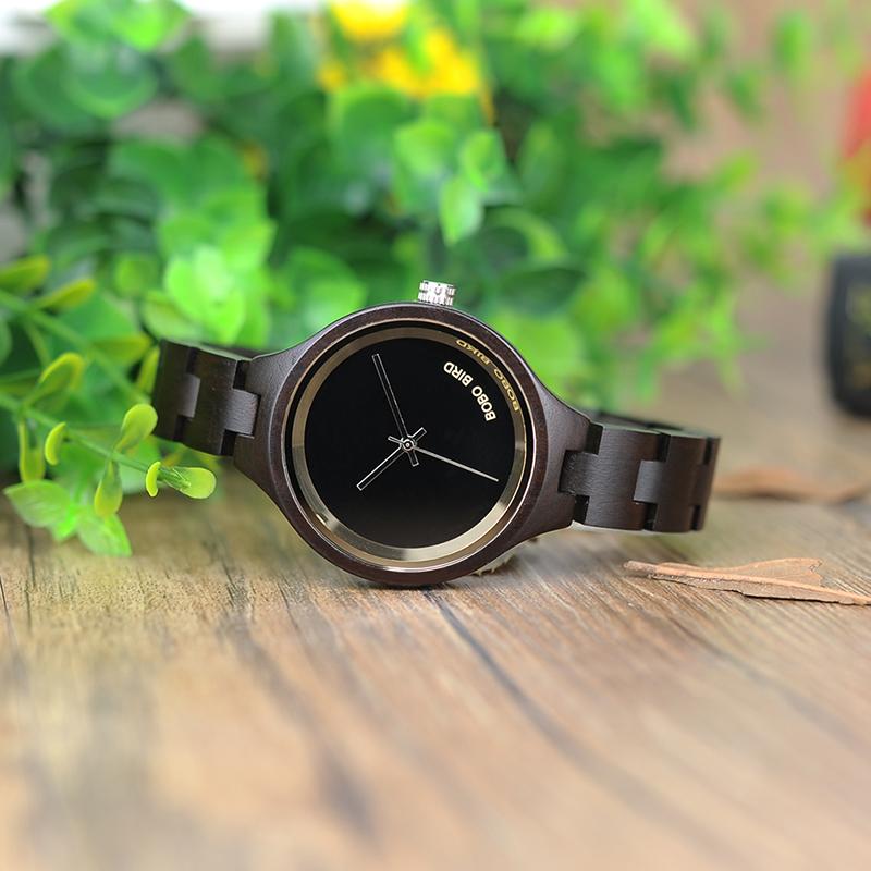ساعة يد نسائية BOBO BIRD الخشبية الاصلية 6