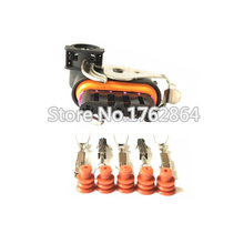 5 Sets DJ7051K-1.5-21 Auto Female Parts Connector Wiper Motor For The Great Wall Geely 5 Pin Lear Waterproof Connector 182420000